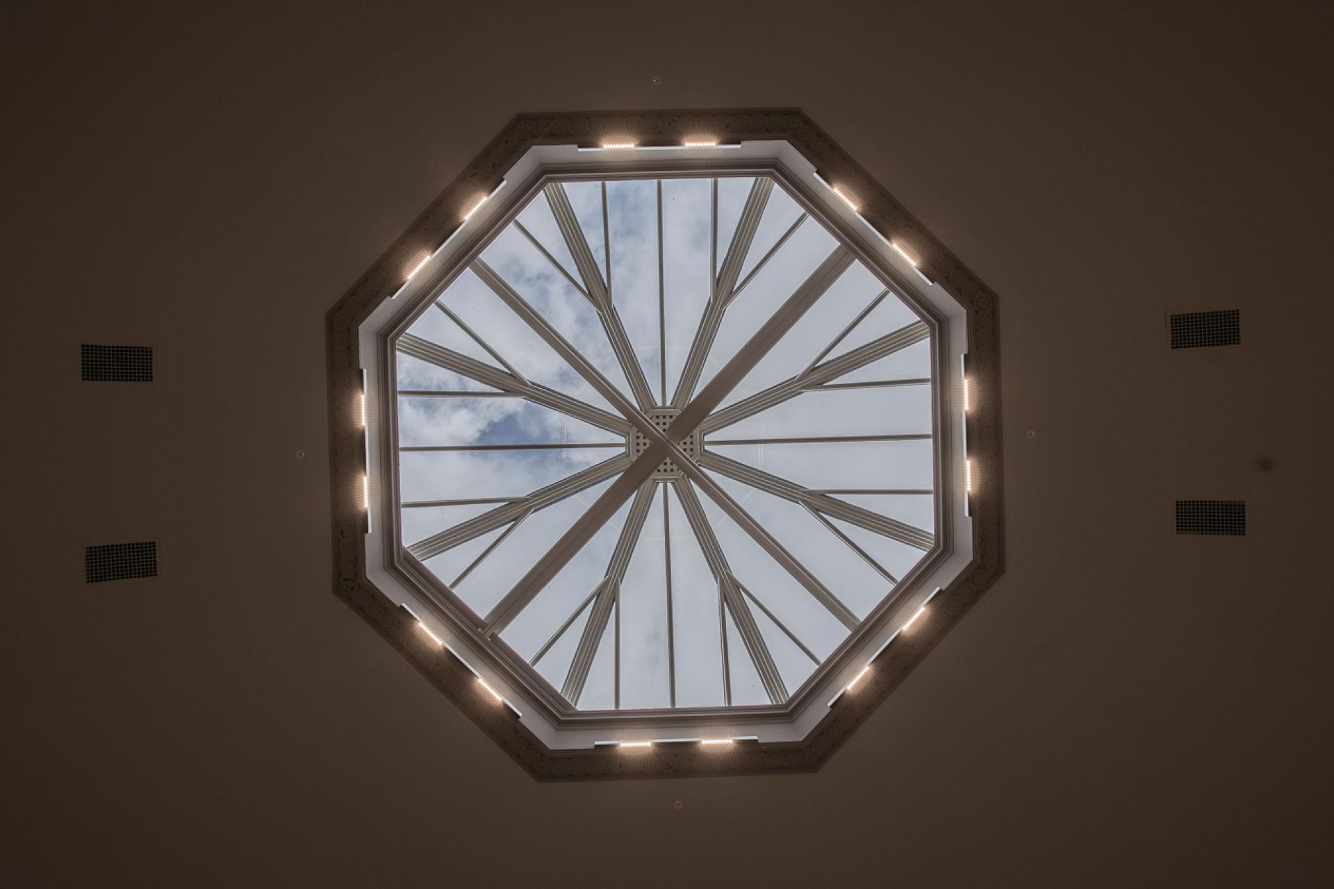 Old College skylight