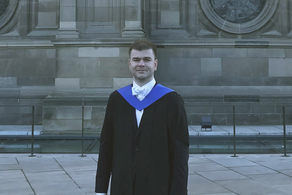 Anton Yakhimovich, LLM in Corporate Law Graduate, 2017