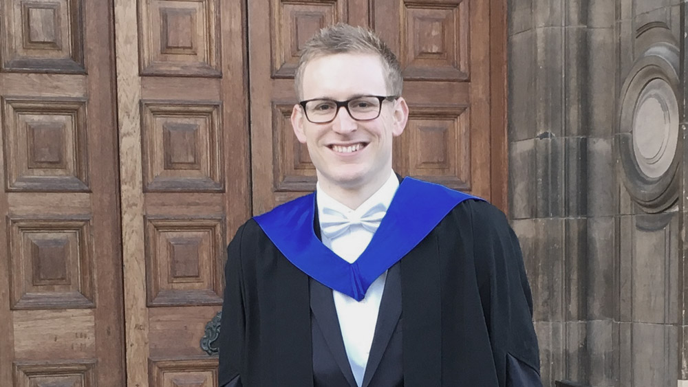 LLM in Law Graduate, Nils Andras