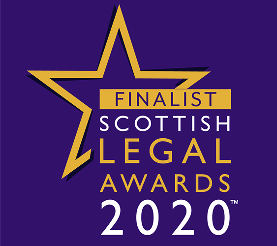 Finalist Scottish Legal Awards 2020