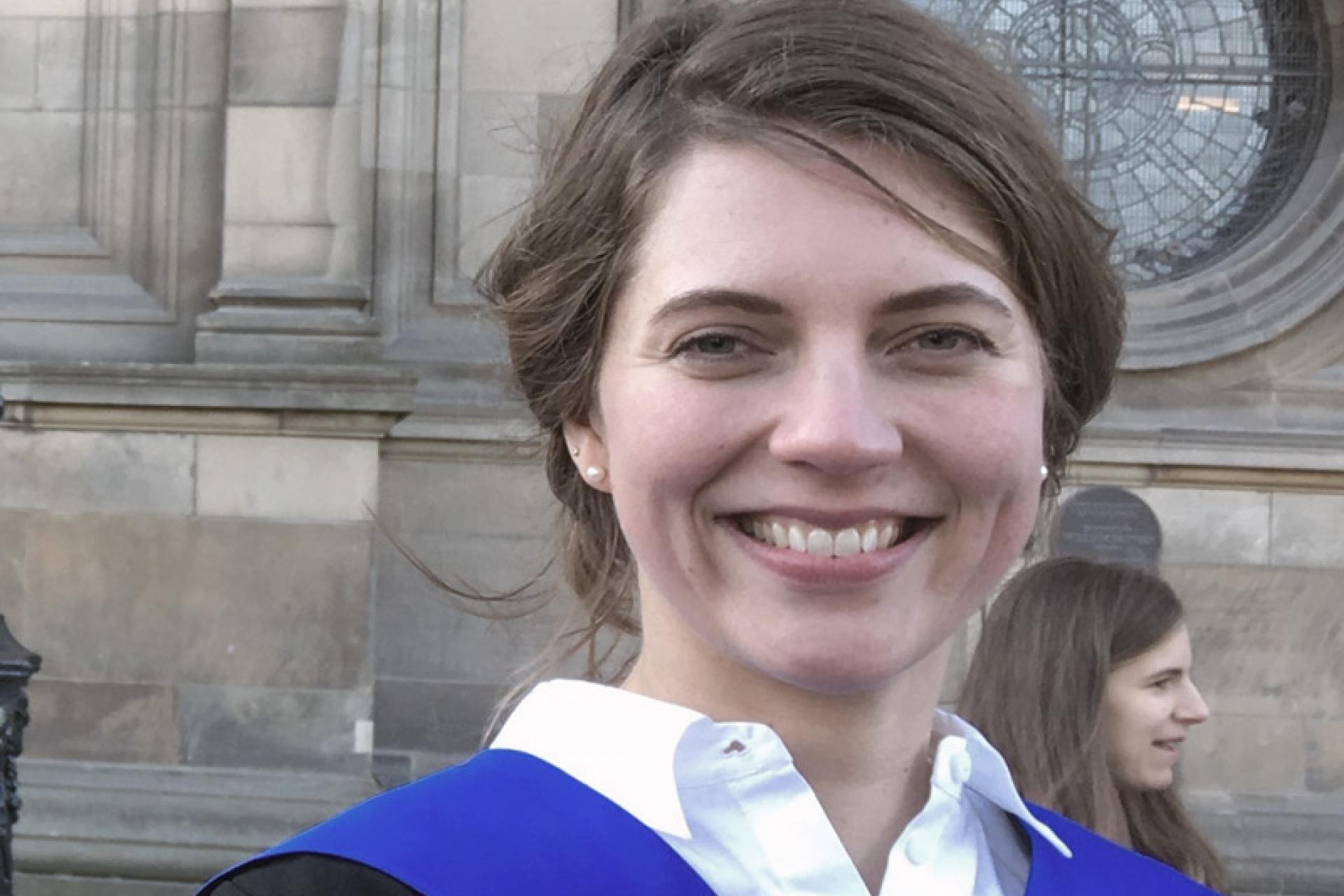 Hannah Frahm, LLM in Comparative and European Private Law Graduate