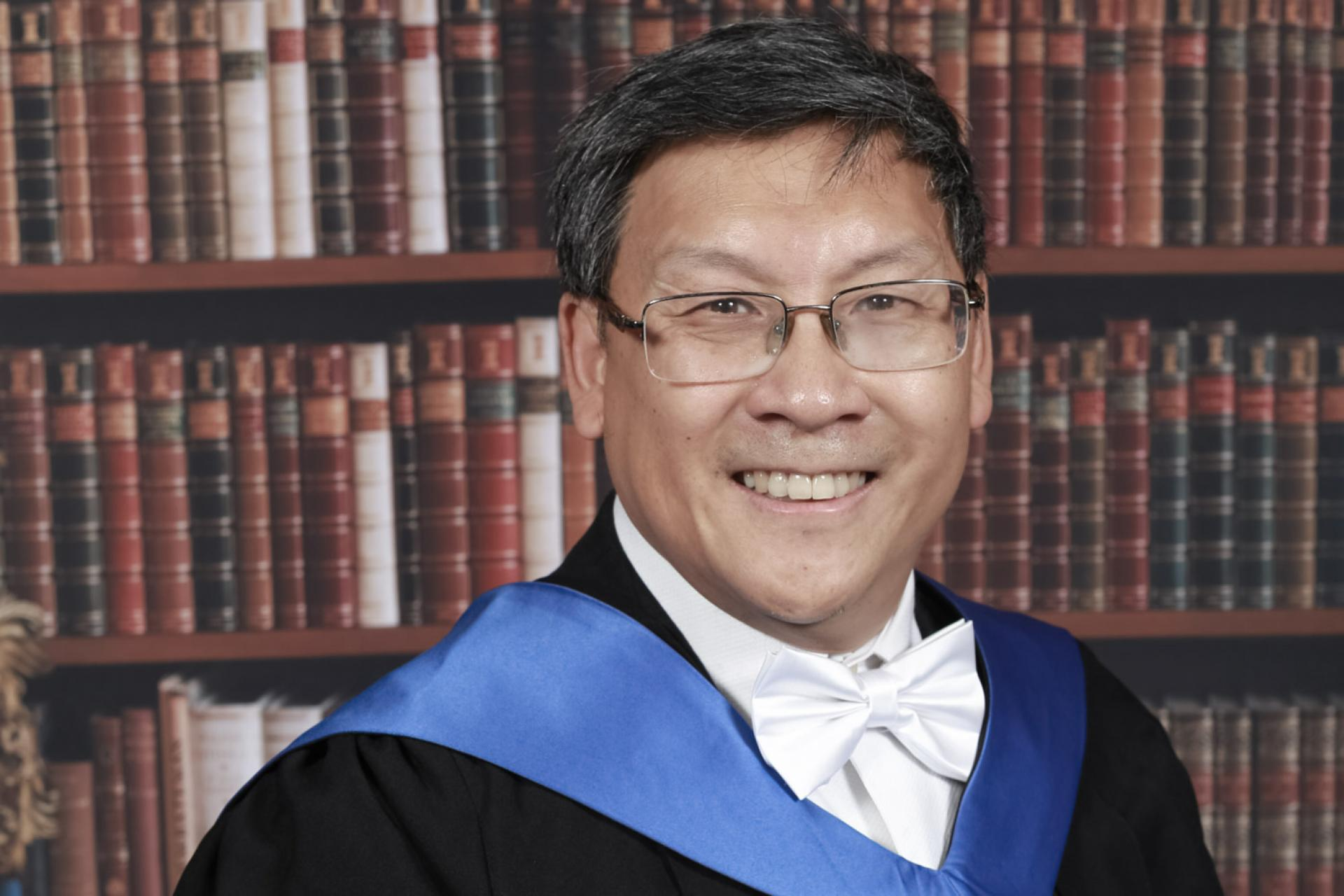 Dr Bernard Wong, LLM in Innovation, Technology and the Law Graduate
