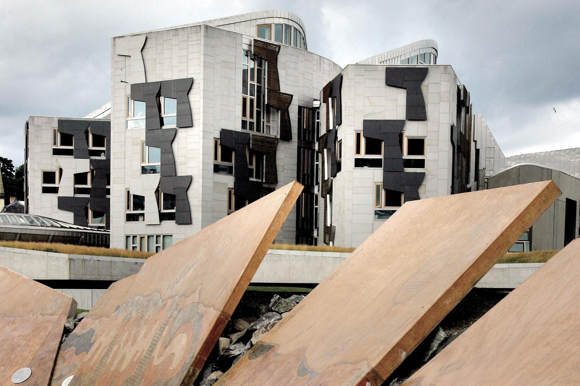 Scottish Parliament from Dynamic Earth