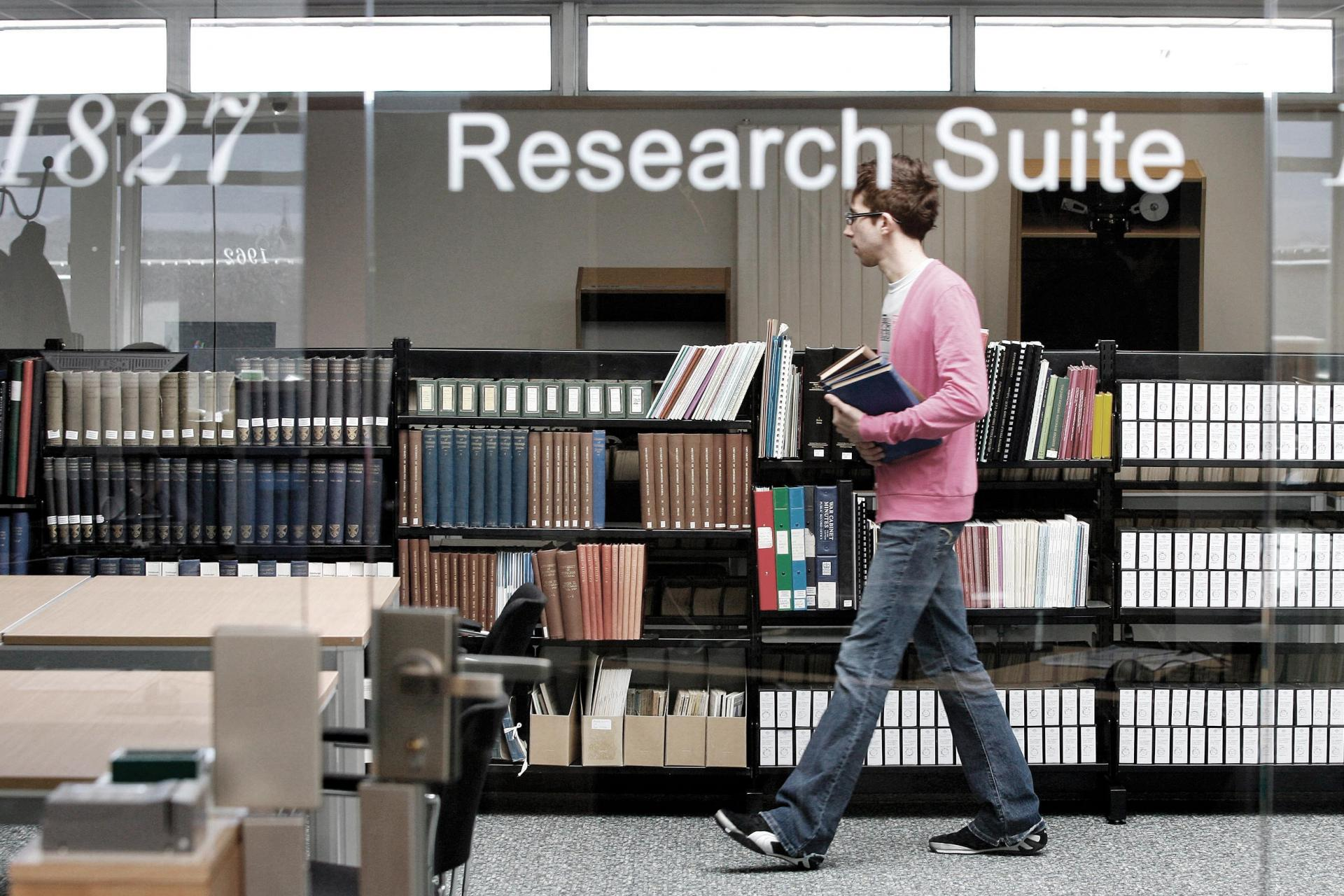 Main Library Research Suite