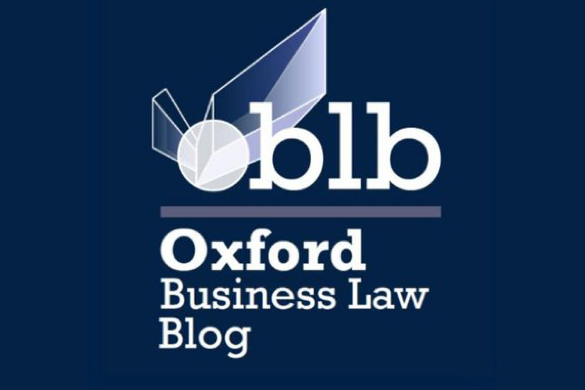 Oxford Business Law Blog logo