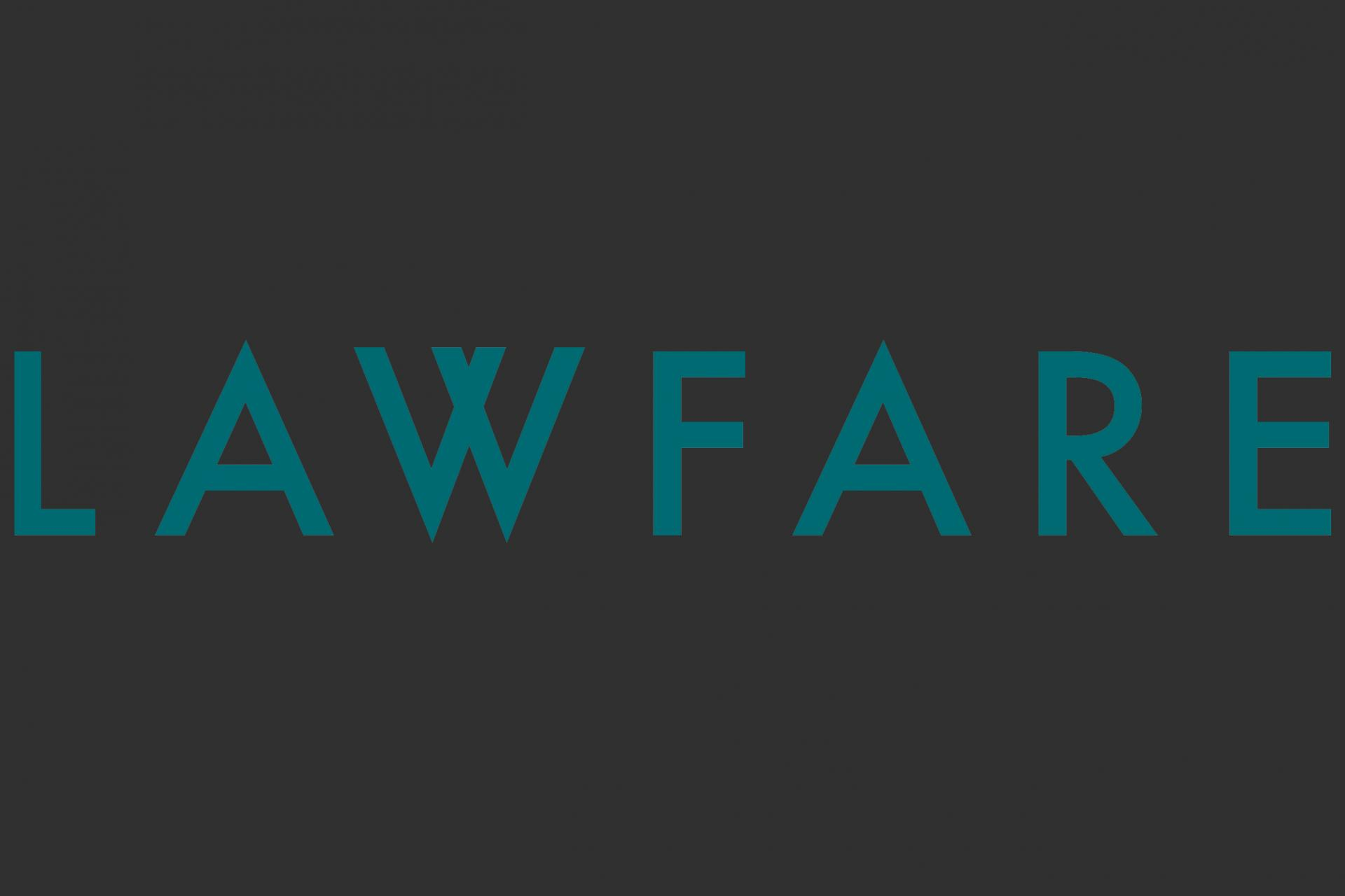 Lawfare blog logo