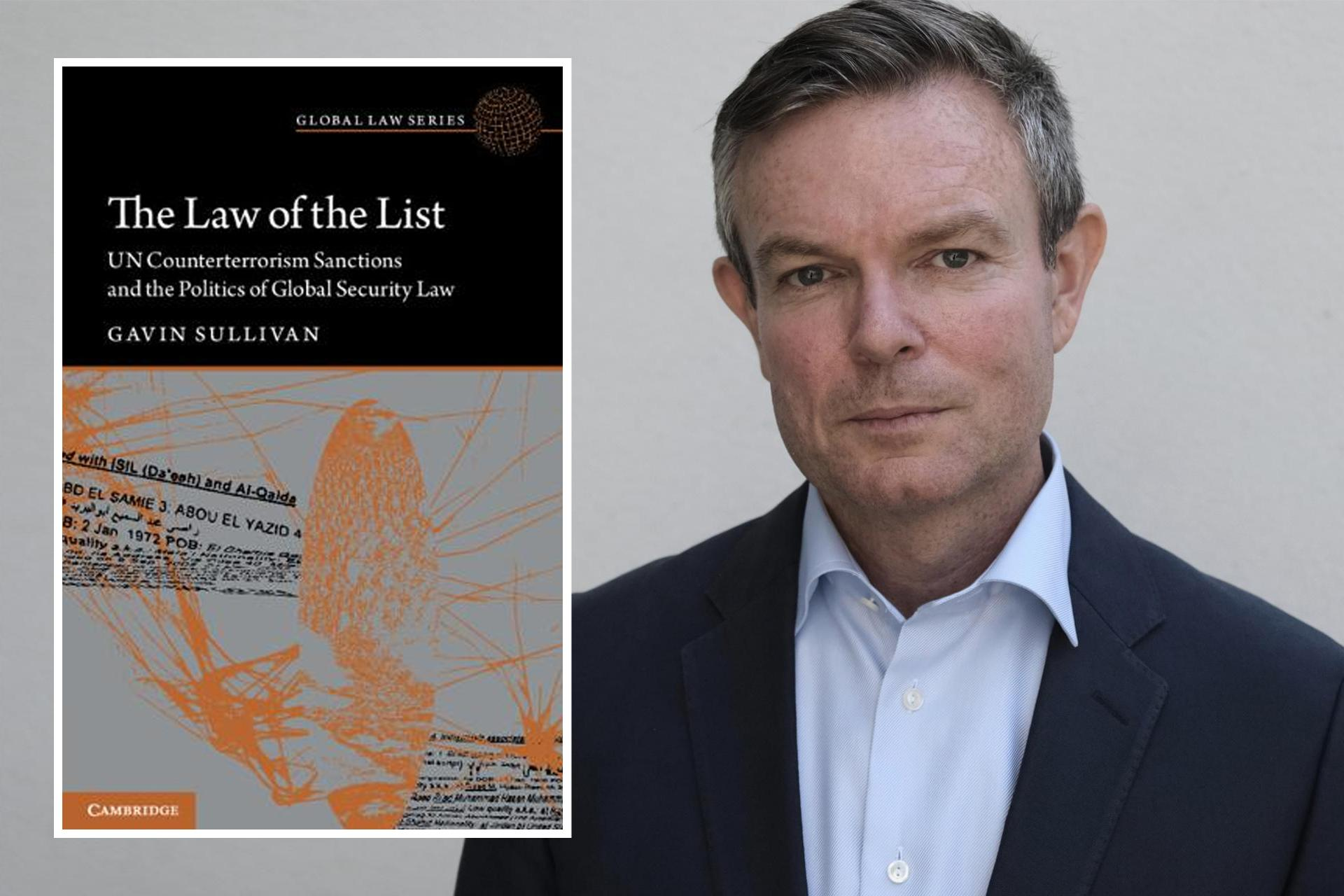 Dr Gavin Sullivan's book The Law of the List