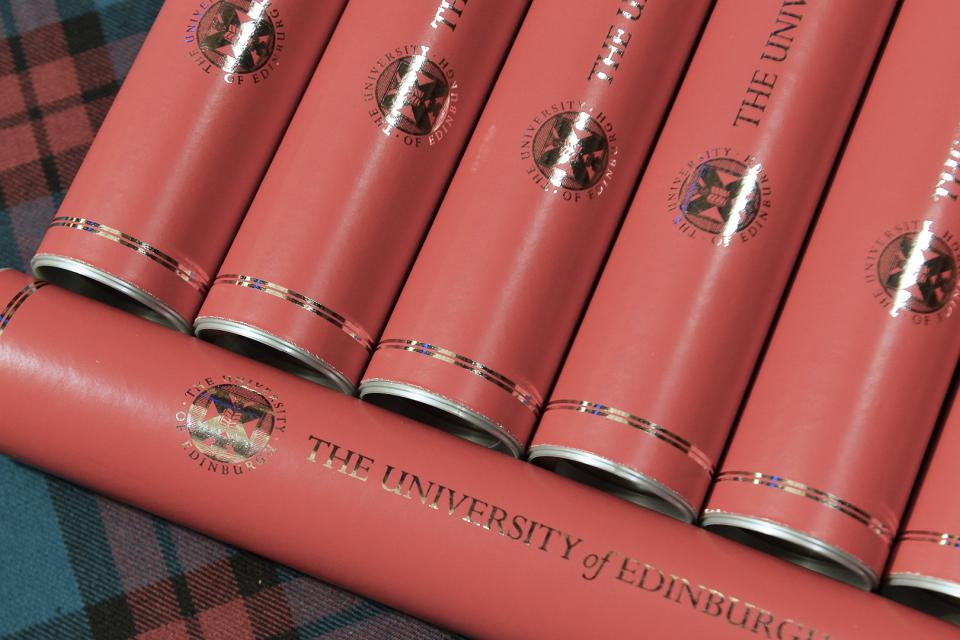 University of Edinburgh alumni website