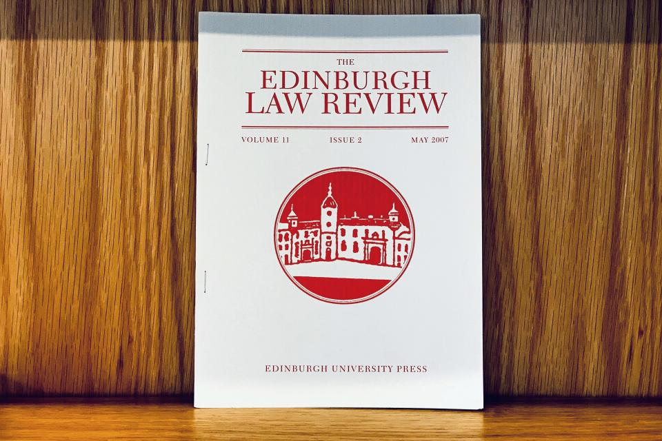 Edinburgh Law Review issue