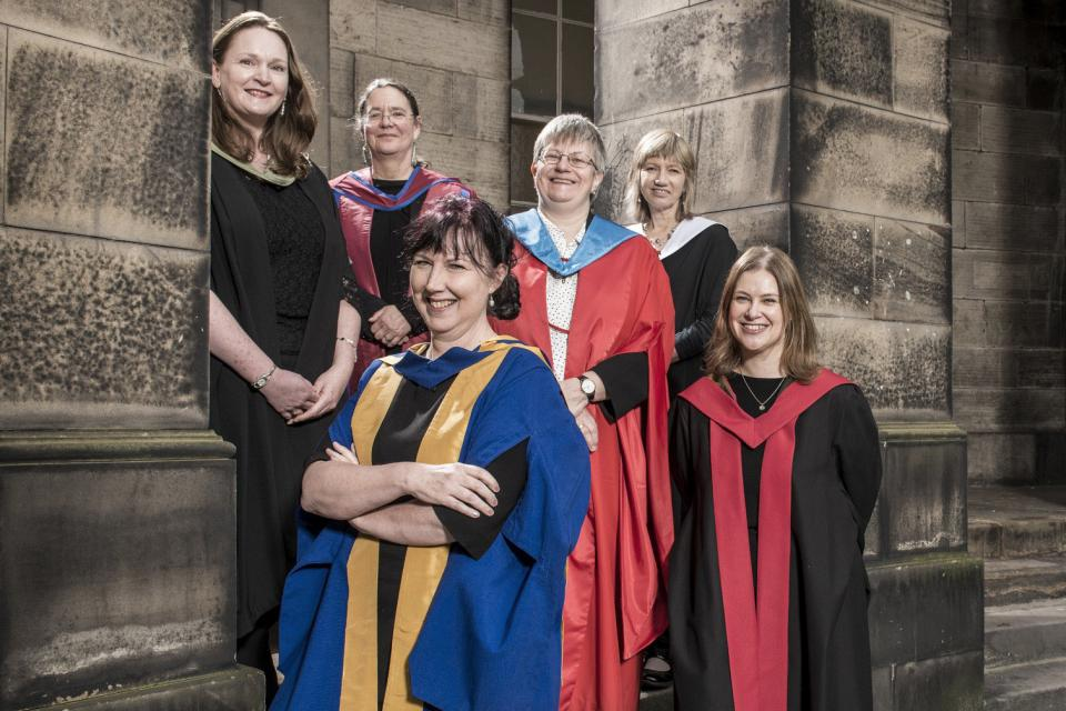 Female professors of Edinburgh
